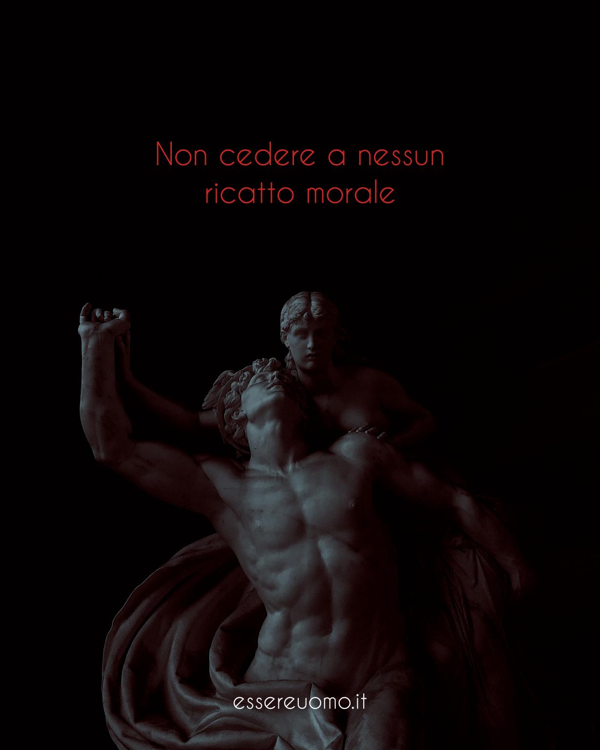 ricatto morale